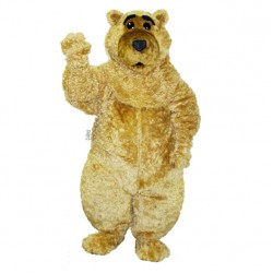 Curly Boris Bear Mascot Costume 440