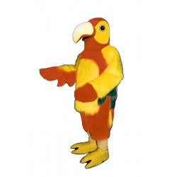 Red Parrot Mascot Costume 444-Z