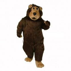 Brown Boris Bear Mascot Costume 448