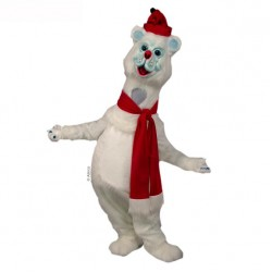 Polar Bear Mascot Costume 45