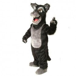 Big Bad Wolf Mascot Costume 478