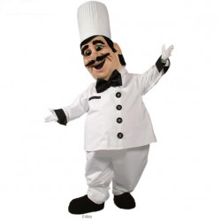 Chef Pierre Mascot Costume 480