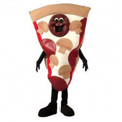 Pizza Mascot Costume 481
