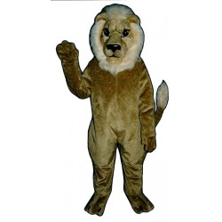 Blonde Lion Mascot Costume 501B-Z