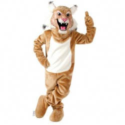 Tan Wildcat Mascot Costume 507