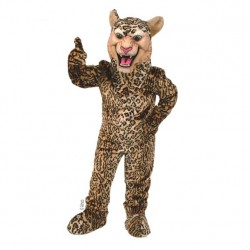 Leopard/Cheetah/Jaguar Mascot Costume 508-QSW