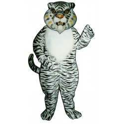 White Tiger Mascot Costume 527-Z
