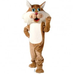 Wirey Wildcat Mascot Costume 54