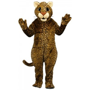 Leaping Leopard Mascot Costume 586-Z