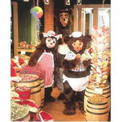 Baby Bear Mascot Costume 61C
