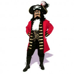 Fancy Captain Scratch Mascot Costume 601