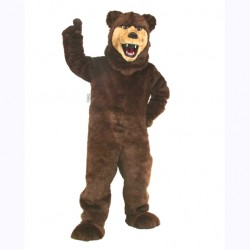 Grizzly Bear Mascot Costume 606