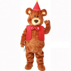 Teddy Graham Mascot Costume 610