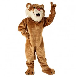 Sabretooth Tiger Mascot Costume 620