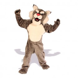 Muscle Wildcat Mascot Costume 632