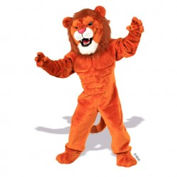 Power Cat Lion Mascot Costume 634