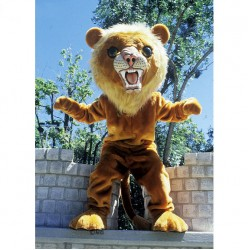 Big Cat Lion Mascot Costume 66