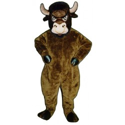 Cartoon Bull Mascot Costume 708-Z