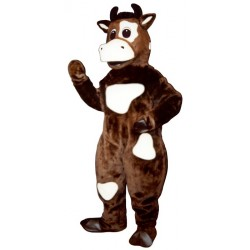 Brown Cow Mascot Costume 726-Z