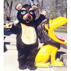 Barnaby Bear Mascot Costume 73