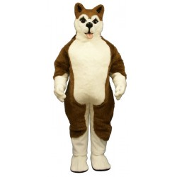 Brown Husky Mascot Costume 815B-Z