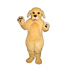 Blonde Dog Mascot Costume 837-Z