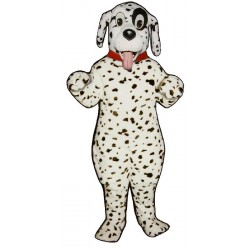 Cute Dalmatian With Collar Mascot Costume 847A-Z