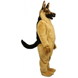 German Shepherd Mascot Costume 887-Z
