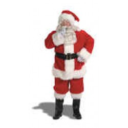 Luxury Santa Mascot Costume 9591