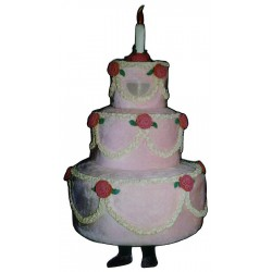 Three Layer Cake (Bodysuit not included) Mascot Costume FC023-Z
