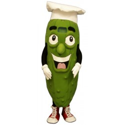 Pickled Chef (Bodysuit not included) Mascot Costume FC116-Z