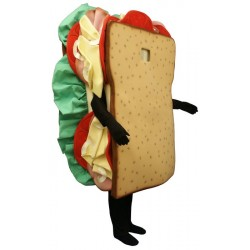 Sandwich (Bodysuit not included) Mascot Costume FC121A-Z