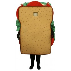 Sandwich (Bodysuit not included) Mascot Costume FC121B-Z