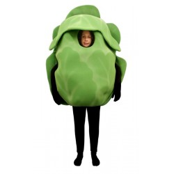 Iceberg Lettuce (Bodysuit not included) Mascot Costume FC123-Z