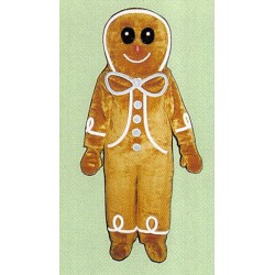 Gingerbread Boy Mascot Costume FC22-Z