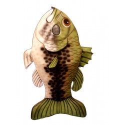 Large Mouth Bass Mascot Costume FC99-Z