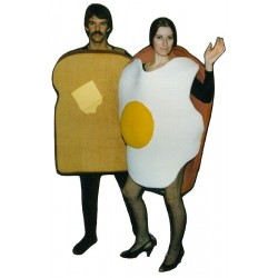 Toast Bodysuit Not Included Mascot Costume PP-34Z