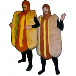 Hot Dog Bodysuit Not Included Mascot Costume PP-32Z