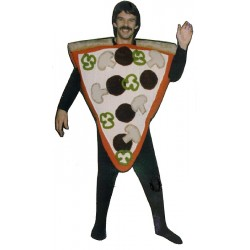 Pizza Slice Mascot Costume  (Bodysuit not included) PP30-Z
