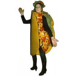 Taco Mascot Costume  (Bodysuit not included)PP33-Z