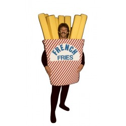 French Fries  Mascot Costume (Bodysuit not included) PP61-Z