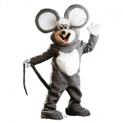 Squeek The Mouse Mascot Costume Z06