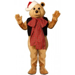 Fancy Bear with Bow Mascot Costume 3408A-Z