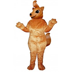 Girly Squirrel Mascot Costume 2840-Z