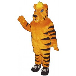 Tiger with Sneakers Mascot Costume 552A-Z