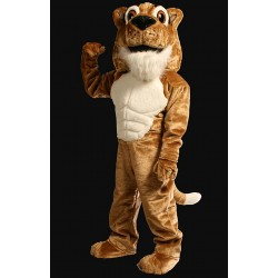 Power Corby Cougar Mascot Costume 222M