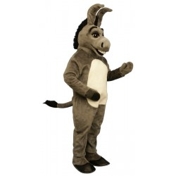 Happy Donkey Mascot Costume 1520-Z