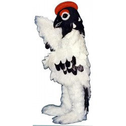Elegant Snow Bird Mascot Costume 436-Z
