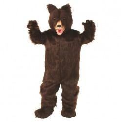Grizzly Bear Mascot Costume 75